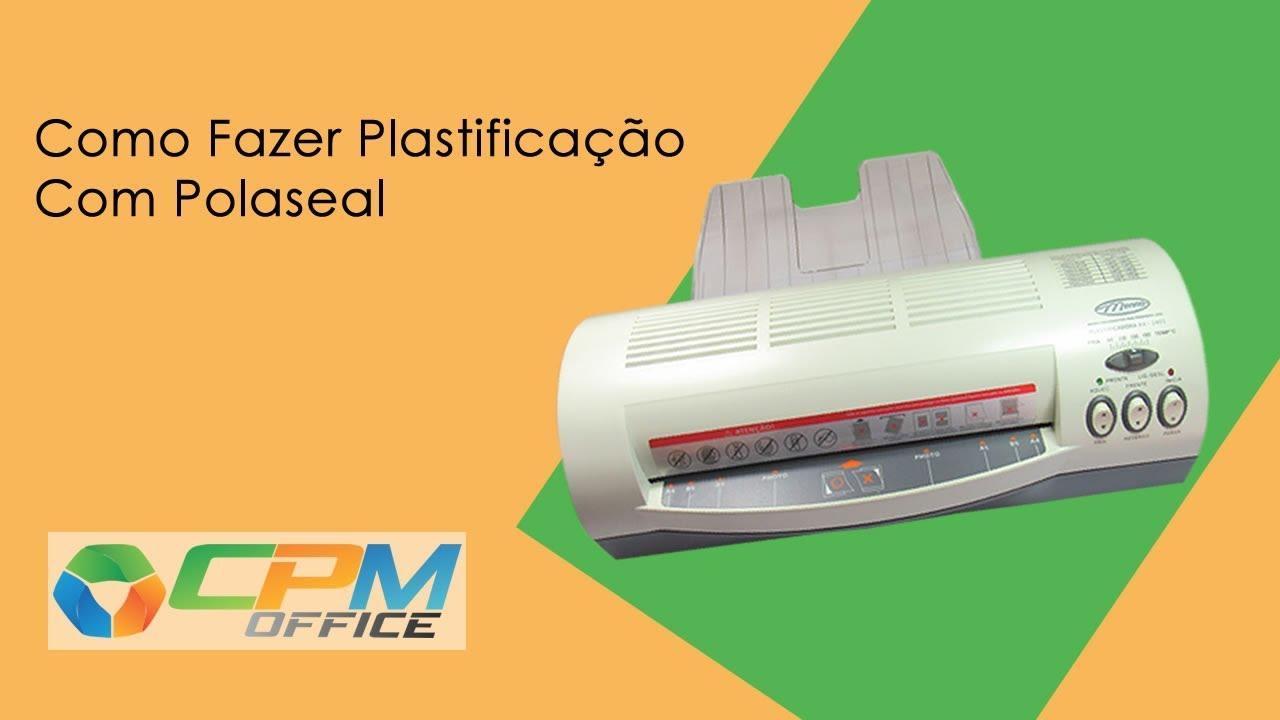 46c758aba Como Fazer Plastificação com Polaseal - YouTube