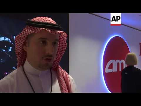 Saudis excited as first movie shown in 35 years