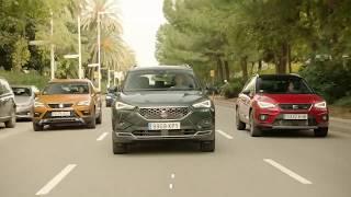 Три позашляховики SEAT – уперше разом на дорозі