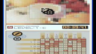 Lets play! Series. Picross DS Walkthrough