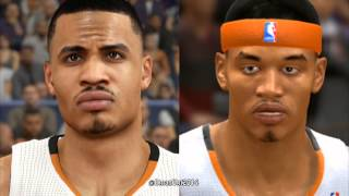 PS4 NBA 2K14 vs. NBA Live 14 Graphics and Face Comparison #2 PS4/Xbox One Footage