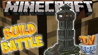 Minecraft : INSANE LIGHTHOUSE BUILD! - Build Battle Minigame