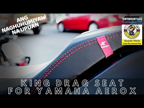 New King Drag Seat For Yanaha Aerox 155