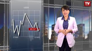InstaForex tv news: USD menutup pekan dengan penurunan besar  (23.03.2018)