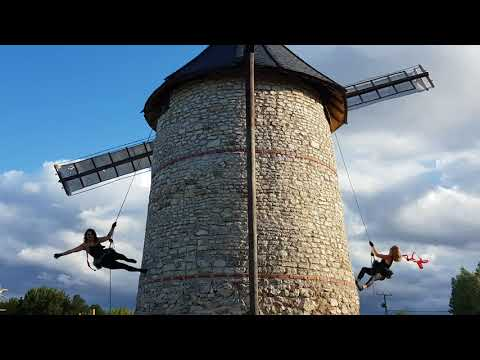 Compagnie Izadora Danse verticale Savonnière