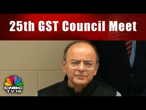 25th GST Council Meet: Arun Jaitley Speaks on the Key Decisions of Meeting || CNBC TV18