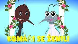 Komáři se ženili - Písničky pro děti a nejmenší - 40 min. zpívánky
