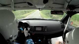 Alexandre Romain Geko ypres rally 2010 SS2 Westouter on board