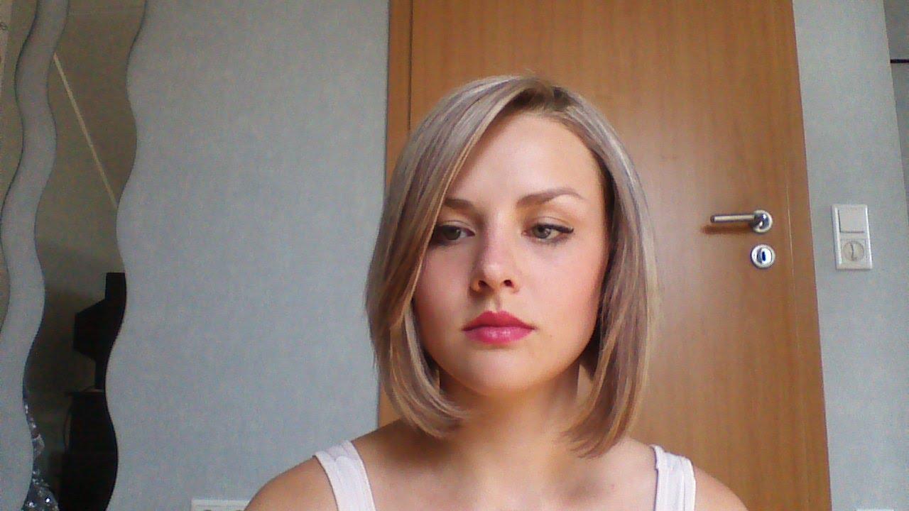 Blondierte haare braun farben und wieder blond