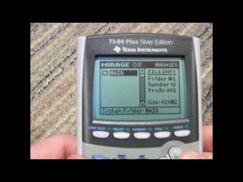 Putting Games On TI-83 TI-84 TI-84 Plus TI-84 Plus Silver