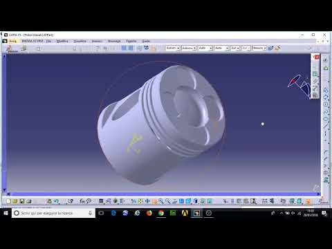 CATIA V5 R18 Piston Engine Design