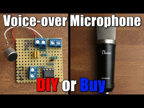 Voice-over Microphone    DIY or Buy