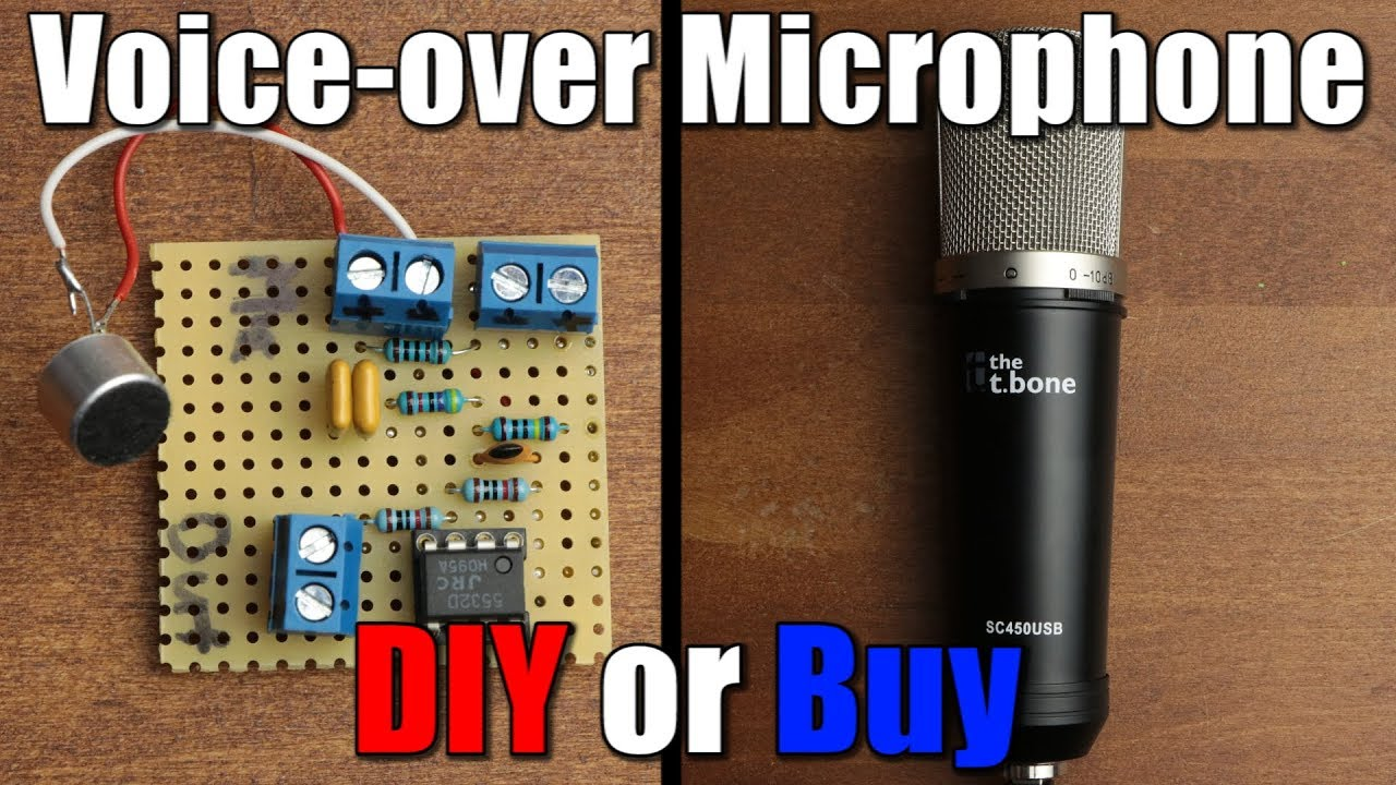 Voice Over Microphone Diy Or Buy Youtube Amplifier With Noise Suppression