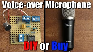 Voice-over Microphone || DIY or Buy