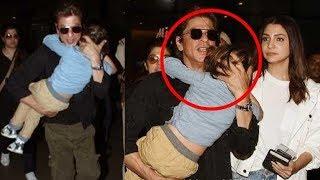 Why shah rukh khan hides abram from media? | latest bollywood news