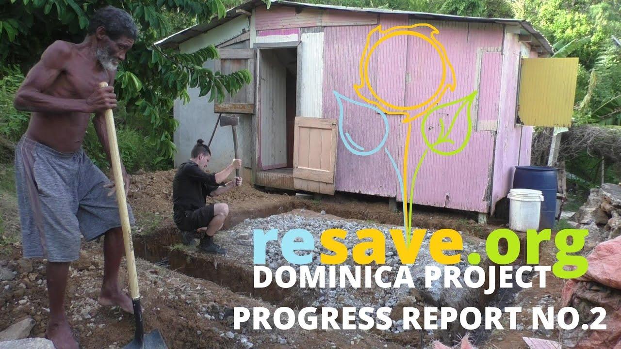 Progress Report No.2 | Dominica Project
