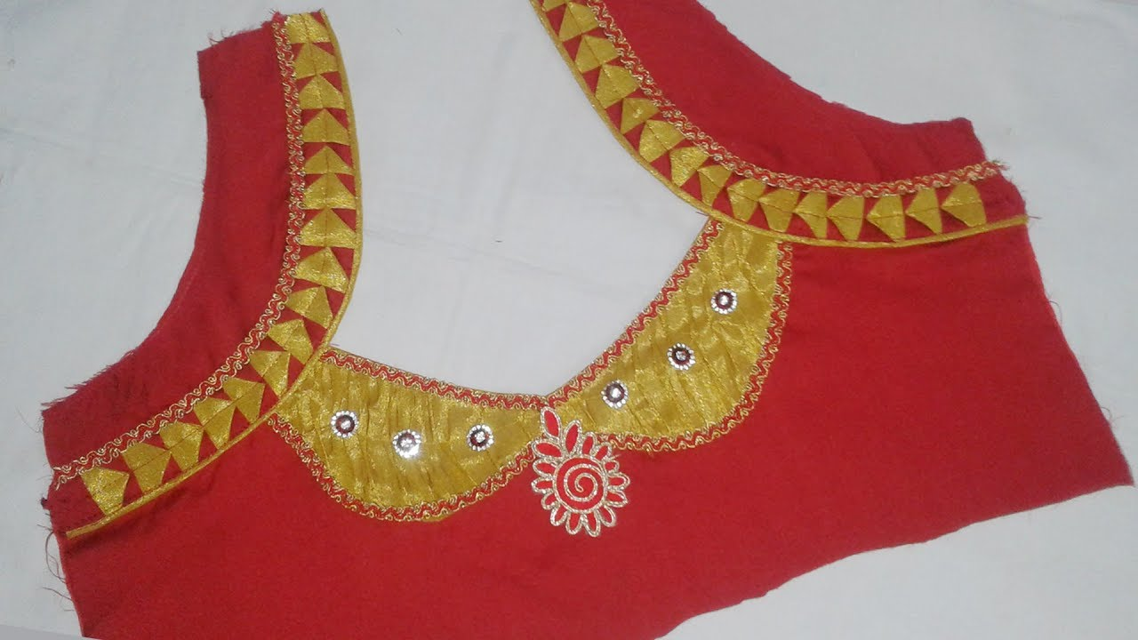 Subscription box model blouse and neck tamil 2017 stitching in cutting little thing