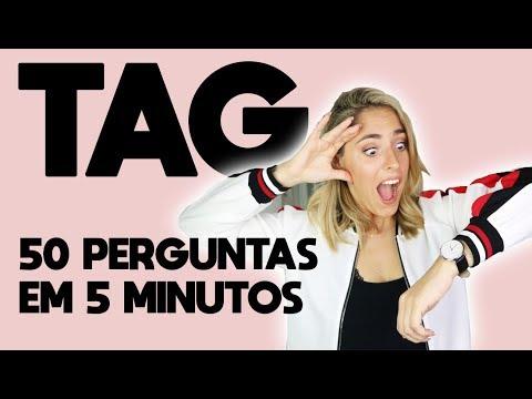50 PERGUNTAS EM 5 MINUTOS : TAG | JOANA SEQUEIRA