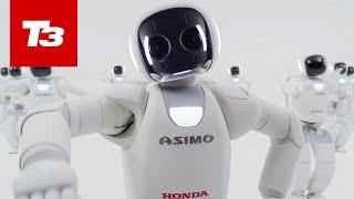 Honda ASIMO Humanoid Robot Euorpean Launch