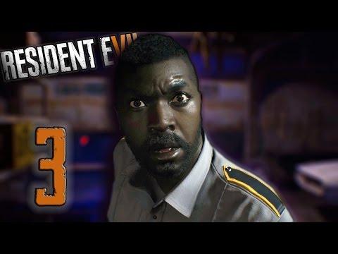 Resident Evil 7 - Part 3   Deputy Dead-Man   Garage Fight   White Dog Head