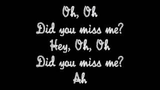 Did You Miss Me - Olly Murs (with lyrics)