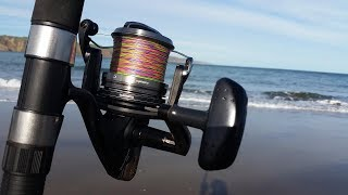 NZ Basic Fishing Surfcasting trip doesn t go to plan