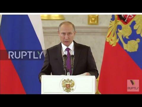 Russia: Putin says
