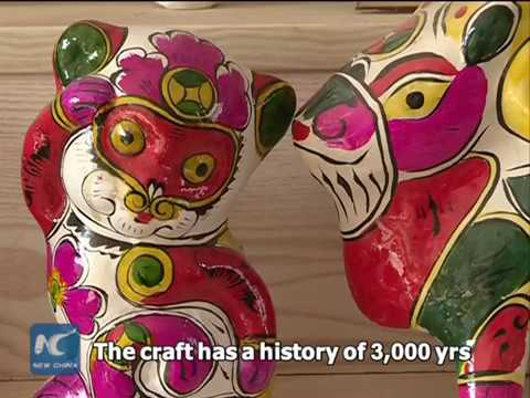 3,000 years old! Sneak peek of ancient Chinese folk art of clay sculptures