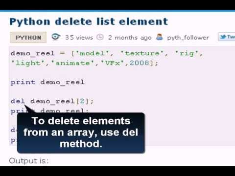python deleting list element dictionary element