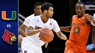 Miami vs. Louisville Men's Basketball Highlights (2016-17)