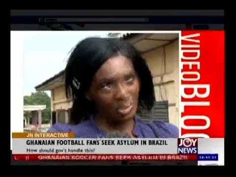 Asylum Seekers in Brazil - Joy News Interactive (11-7-14)
