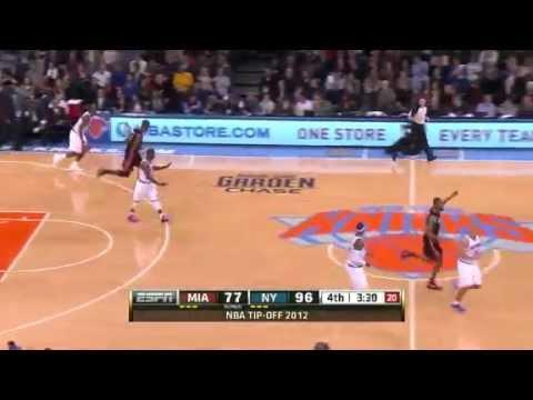 NBA Miami Heat Vs New York Knicks Game Recap 11/02/2012