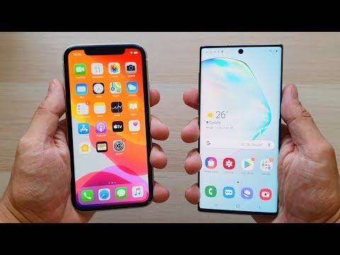 IPhone 11 Vs Note 10, LA COMPARATIVA BARATA!!