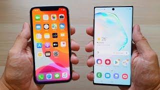 iPhone 11 vs Galaxy Note 10, LA COMPARATIVA BARATA!!