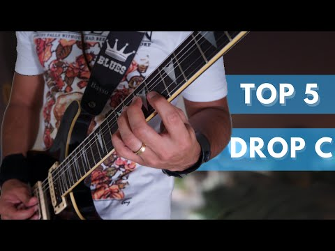Top 5 Drop C Guitar Riffs by Paulo Vinn