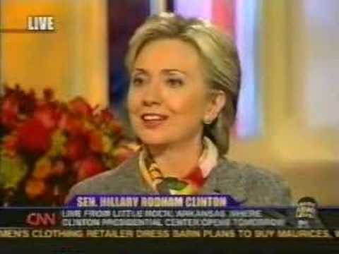 Hillary Clinton Promised Clinton Library Would Be Open And Records Would Be Available Earlier Than Legally Required