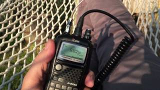 k2wnw listens to the voice of turkey interval signal on the icom ic 92ad handheld