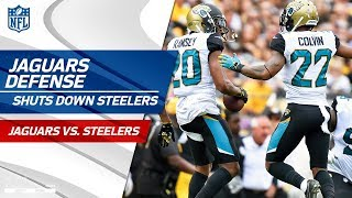 Steelers Couldn't Break Through Jags' Defense! | Jaguars vs. Steelers | Wk 5 Player Highlights