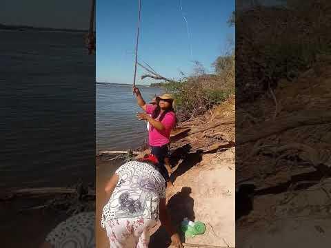 Pescando em luiz Alves do Araguaia kkkkk