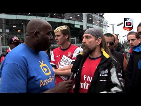 Arsenal FC BullyTalk - Bully unhappy with Ref - Arsenal v Aston Villa