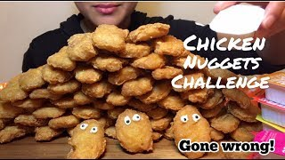 ASMR McDonald's CHICKEN NUGGETS CHALLENGE by AuzSOME Austin ** GONE WRONG**