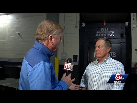 Lynchie Goes 1-on-1 With Patriots Head Coach Bill Belichick