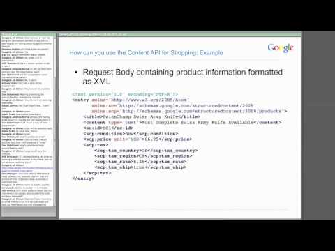Keeping your product data fresh using Google's Content API f