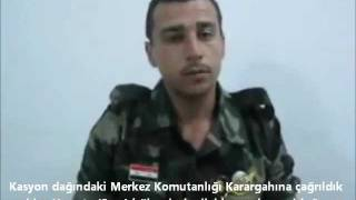 Suriye'li Asker gerçekleri anlatıyor...
