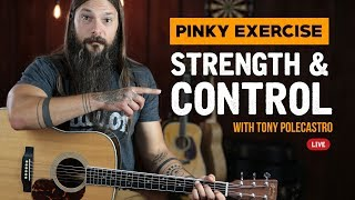 How to Increase Pinky Strength For Guitar Players
