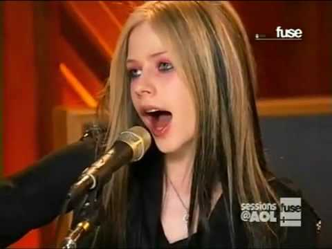 AVRIL LAVIGNE - He Wasn't (AOL Sessions) [HQ]