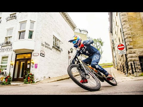 Purest and Rawest Urban MTB Line of the Day | w/ Finn Iles in 4K