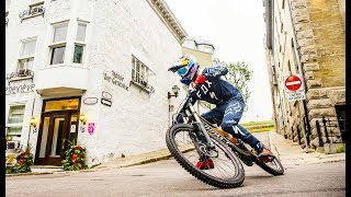 Purest and Rawest Urban MTB Line of the Day  w Finn Iles in 4K