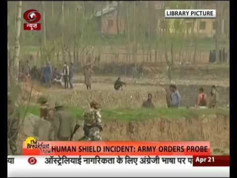 Human shield incident: Army orders enquiry
