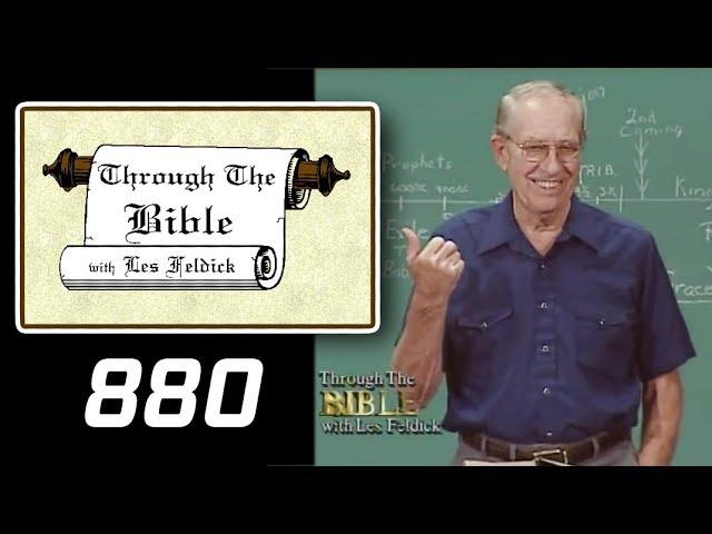 [ 880 ] Les Feldick [ Book 74 - Lesson 1 - Part 4 ] Connecting the Dots of Scripture: Gen-Rev  4/48
